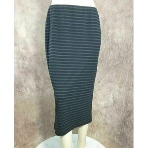 Anthropologie Sanctuary Striped Knit Skirt